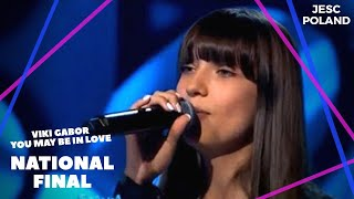 Wiktoria Gabor   You May Be In Love   Poland 🇵🇱 (National Final Performance) 1of3