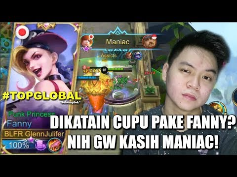 GW DIKATAIN CUPU MAIN FANNY?! MANIAC TUH MAKAN!!! | Mobile Legends Indonesia