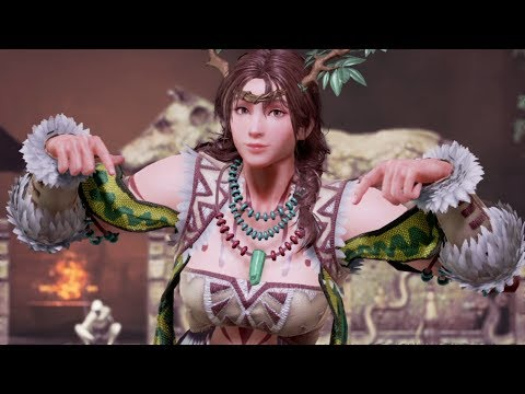 "TEKKEN 7 — Julia ""Mother Nature"" Outfit Gameplay"