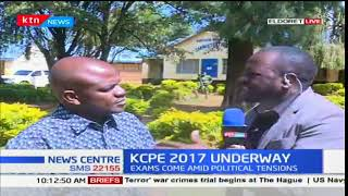 Incidence of insecurity in Marakwet East as KCPE is underway
