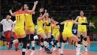 里約中國女排3-1戰勝塞爾維亞 女排姑娘們場下原來那麽逗