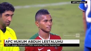 Abduh Lestaluhu Dihukum AFC Terkait Insiden Menendang Bola Saat Final Piala AFF 2016