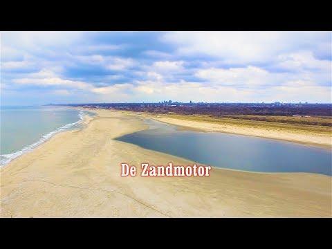 Met de drone over de Zandmotor, een prachtig stukje natuur tussen Den Haag en het Westland