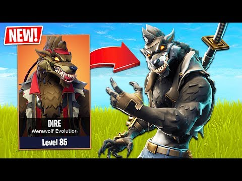 Fortnite Max Ragnarok Gameplay Fortnite New Werewolf Skin Evolution Fortnite Season 6 Gameplay New Map Skins Pets