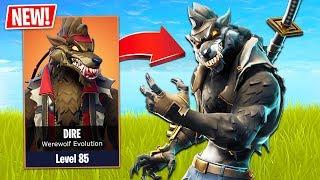 Fortnite *NEW* Werewolf Skin Evolution! (Fortnite Season 6 Gameplay - New Map, Skins & Pets!)
