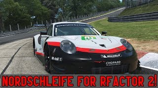 Awesome in Every Way! Nurburgring Nordschleife for rFactor 2