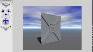 preview picture of video 'Bryce  tutorial - Metal door'