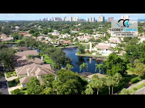 Pelican Bay Oak Lake Sanctuary Naples, Florida video