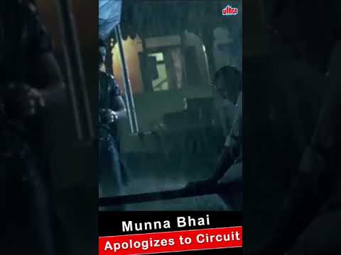 Munna bhai Mbbs..Munna bhai apologize to circuit.Beautiful scene