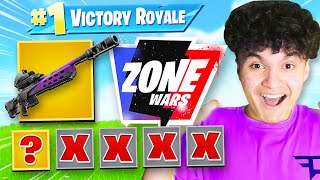 Winning with FIRST WEAPON CHALLENGE in Zone Wars