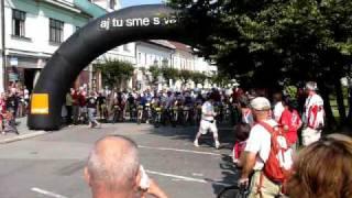 preview picture of video 'Dolný Kubín MTB 2009 štart dlhá trať'