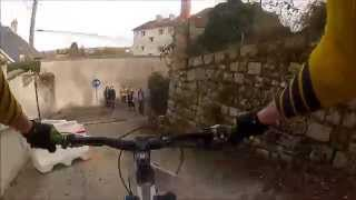 preview picture of video 'Enduro MTB - Rallye des 4 Puys 2015 - Guéret - DH+Urbain'