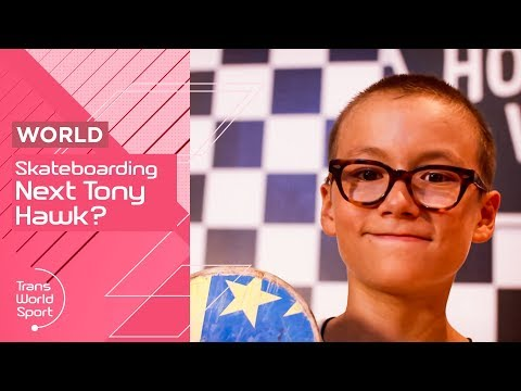 The Next Tony Hawk or Brighton Zeuner? | USA's Best Young Skateboarders | Trans World Sport
