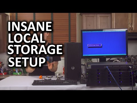 Insane Storage Server – Fully 10 Gigabit Network, $1,500 Switch