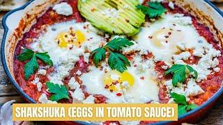 Easy Shakshuka Recipe - How To Make Shakshuka a.k.a Eggs in Tomato Sauce
