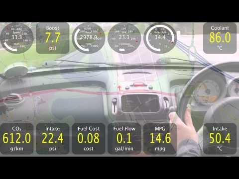 Video of Track Recorder(Torque OBD/Car)
