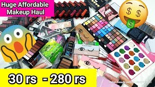 Ultra Affordable Makeup Haul | 30 rs - 280 rs | Huge Makeup Haul | Indian Beauty Surbhi - Download this Video in MP3, M4A, WEBM, MP4, 3GP