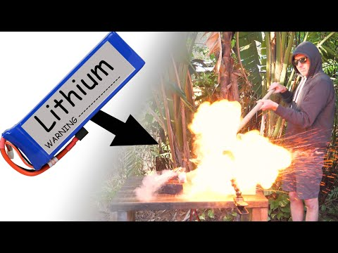 You should listen to LiPo Battery Safety Instructions!