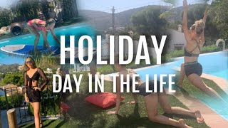 HOLIDAY DAY IN THE LIFE VLOG | Summer Travel Vlog 2020