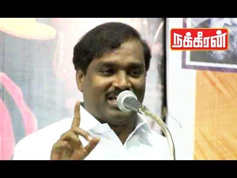 Velmurugan-warns-Kannada-Groups-Cauvery-water-sharing-issue