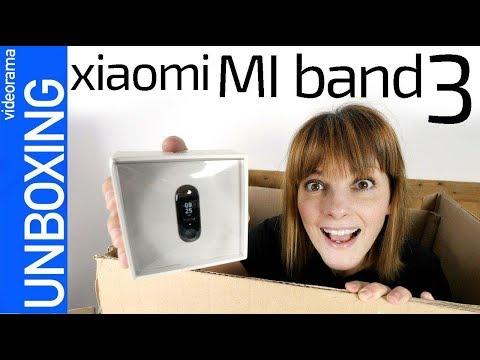 Xiaomi Mi Band 3 unboxing -vuelve la PULSERA más COMPLETA y BARATA-