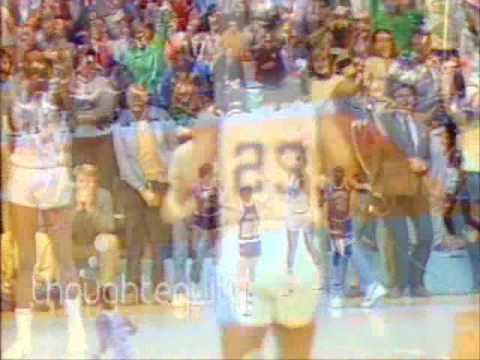 Michael Jordan before the legend