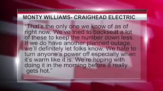 Multiple planned power outages expected this week
