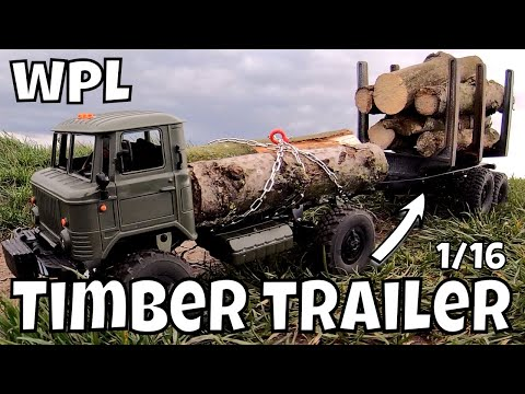 WPL Timber Trailer