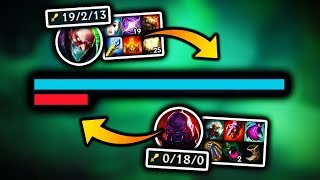 the secret to stop the inting Sion strat is...