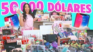 MEGA GIVEAWAY of $50,000 WITH 8 WINNERS!!  IPHONE X + MACBOOK PRO + ALL THE MAKEUP BRANDS!