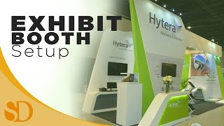 Hytera Exhibit Booth Setup (2016 RADSHOW ON DISASTER RESILIENCE)