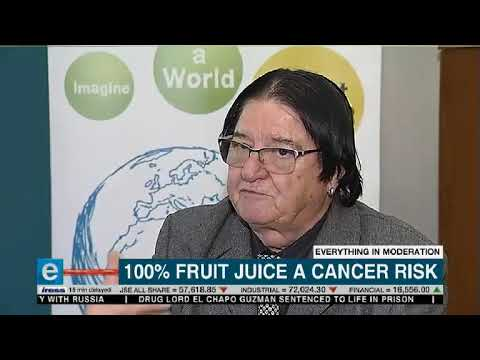 100% fruit juice a cancer risk