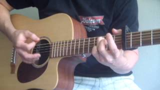 Mumford And Sons Little Lion Man SUPER EASY AND CORRECT Guitar Tutorial