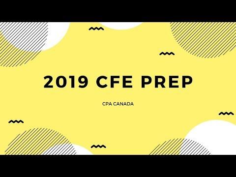 2019 CFE Prep - Plan For Exam (CPA Canada) - YouTube