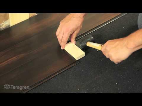 How to Install Bamboo – Teragren Drop Lock Strand Bamboo Floors.mp4
