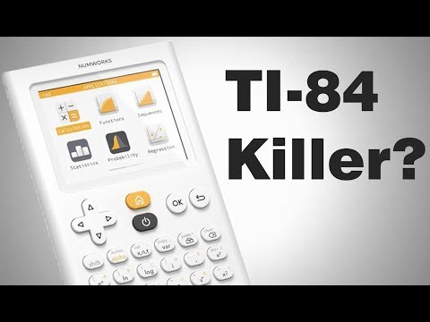 Numworks Calculator: The Better TI-84?