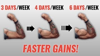 How Many Days A Week Should You Workout? (FASTER GAINS!)