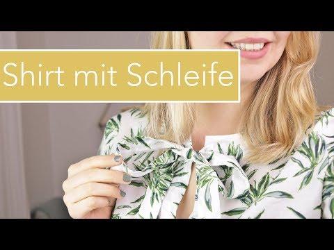 Shirt mit Schleife nähen für Anfänger von Milliblu's | Zwillingsnadel |VERLOSUNG!