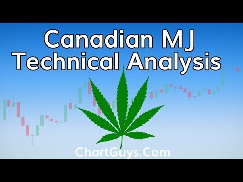 Canadian Marijuana Technical Analysis Chart 9/18/2018 by ChartGuys.com
