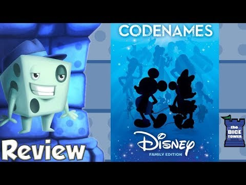Codenames: Disney Family Edition Review - with Tom Vasel