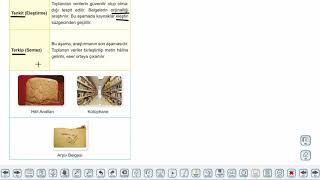 Eğitim Vadisi 9.Sınıf Tarih 1.Föy İnsanlığın Hafızası Tarih Konu Anlatım Videoları