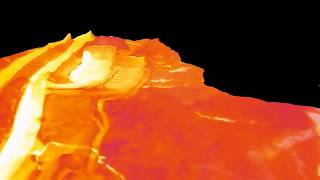 Thermal infrared model of geothermal area