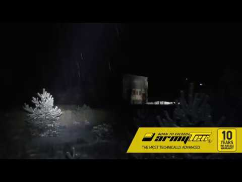 Flashlight Armytek Barracuda Pro XHP35 HI. Extreme beam distance is up to 800 meters