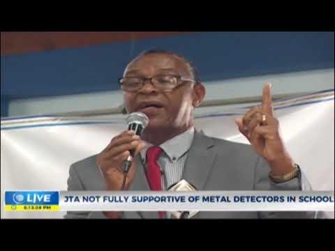 JTA not fully supportive of metal detectors in school