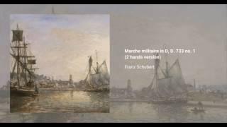 3 Marches militaires, D. 733