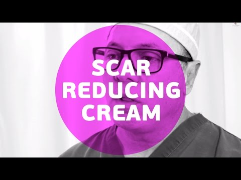 What are the recommended scar reducing cream for post surgery ?