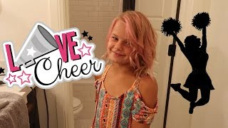 REESE STARTS CHEER AND GETS PINK HAIR | THE LEROYS