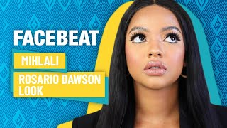 Mihlali N recreates Rosario Dawson's natural makeup from Briarpatch   Facebeat tutorials with DStv