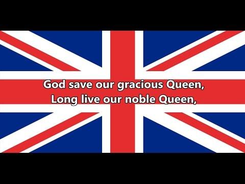 National anthem of the United Kingdom - God Save the Queen (lyrics)