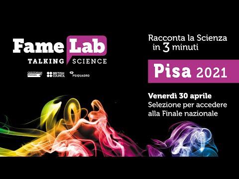 FameLab Pisa - 30 de abril de 2021 - Elección